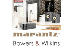 Marantz  M-CR610 melody media CD-receiver + Bowers & Wilkins B&W 685 S2 speakers nuovo